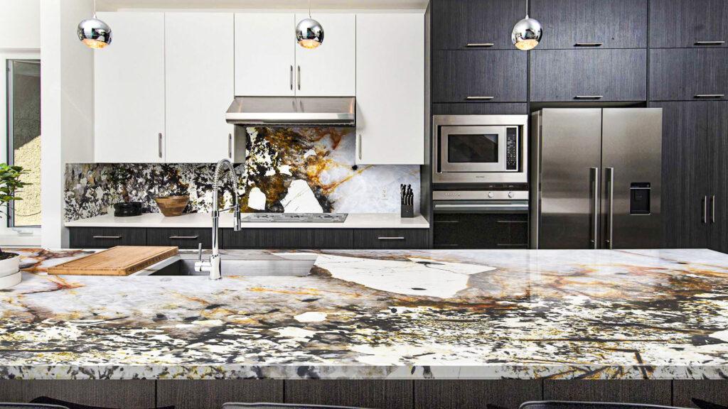 Küchenarbeitsplatte Granit